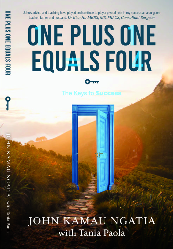 One Plus One equals Four - book cover